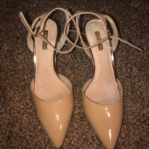 Brand new never worn one inch closed toe heels